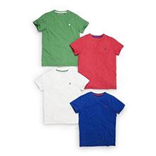 детские футболки без рисунка купить