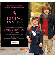 Скидки на сайте Ralph Lauren -25%