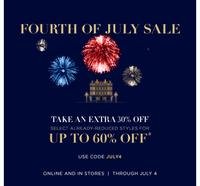 Скидка 30% на сайте Ralph Lauren