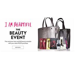 the Beauty Event на сайте Neiman Marcus