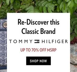 Большая распродажа Tommy Hilfiger на 6PM.com. Скидки до 83%