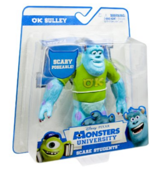 Kоллекционная фигурка Monsters University - Scare Students - Sulley