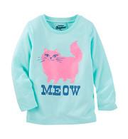 """Кофта для девочки """"кошка"""" Oshkosh"""