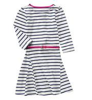 Детское платье Crazy8 с розовым поясом